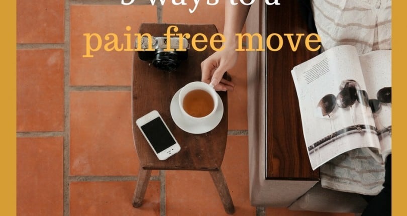 5 ways to a pain free move