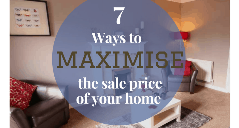 7 ways to maximise the sale price of your home