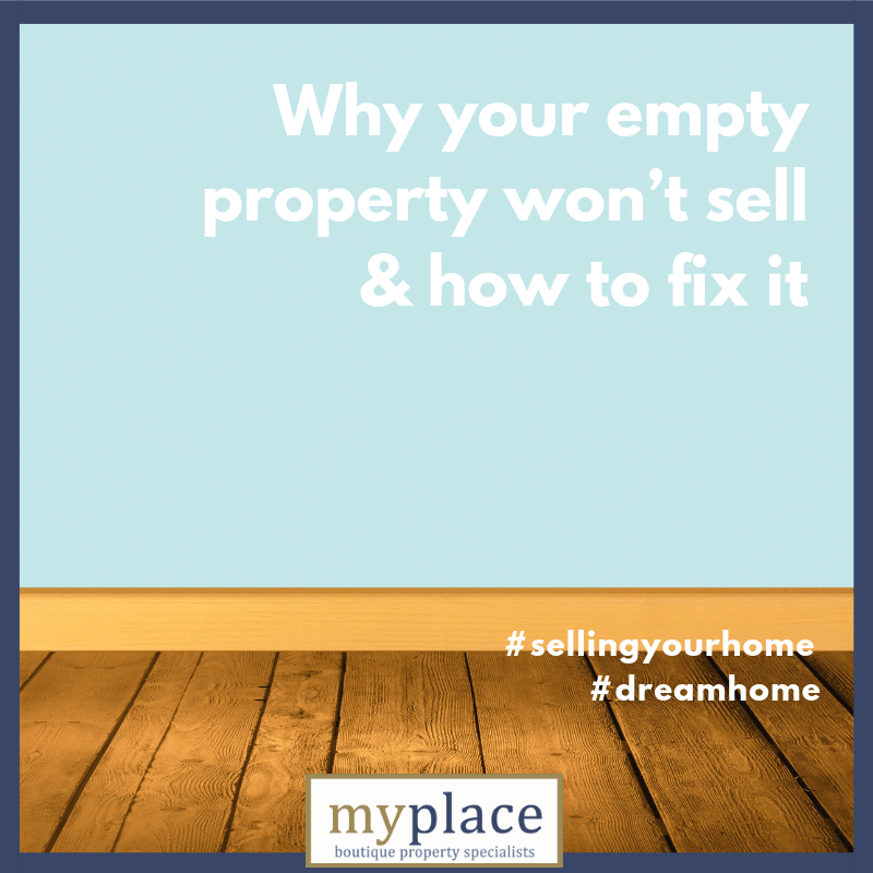 Why your empty property won't sell and how to fix it
