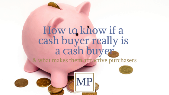 How to know if a cash buyer is really a cash buyer